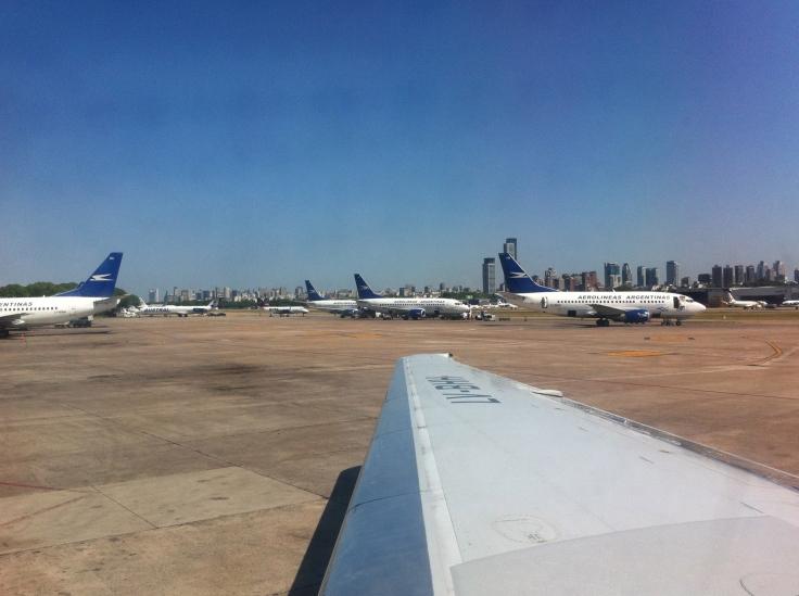 flight arrival