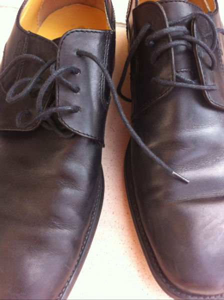participant's shoes