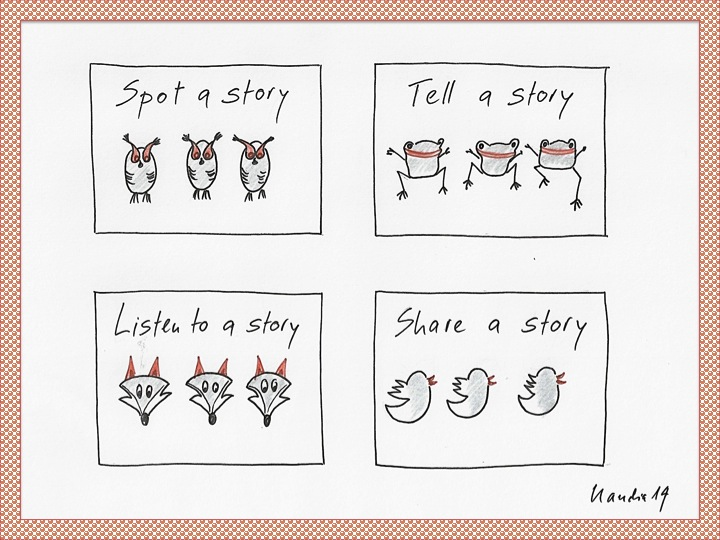 Stories: spot, tell, listen, share 2