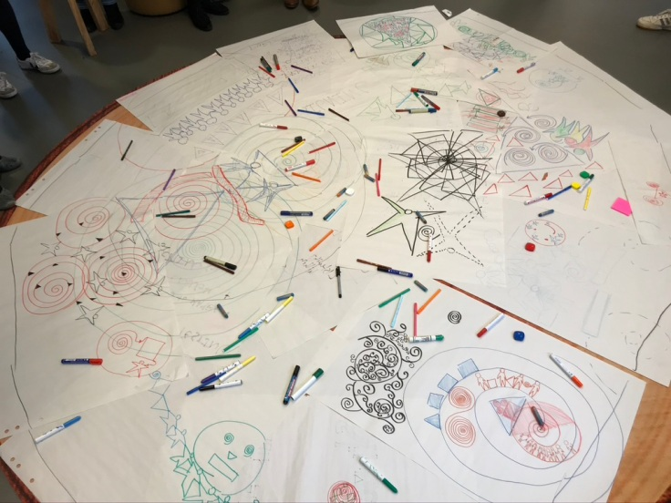 Drawing Together at the Liberating Structures Social Immersion Workshop The Hague 2019